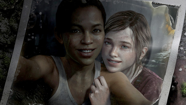 The Last of Us Left Behind Ellie y Riley