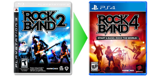 Rock Band 2 transfer