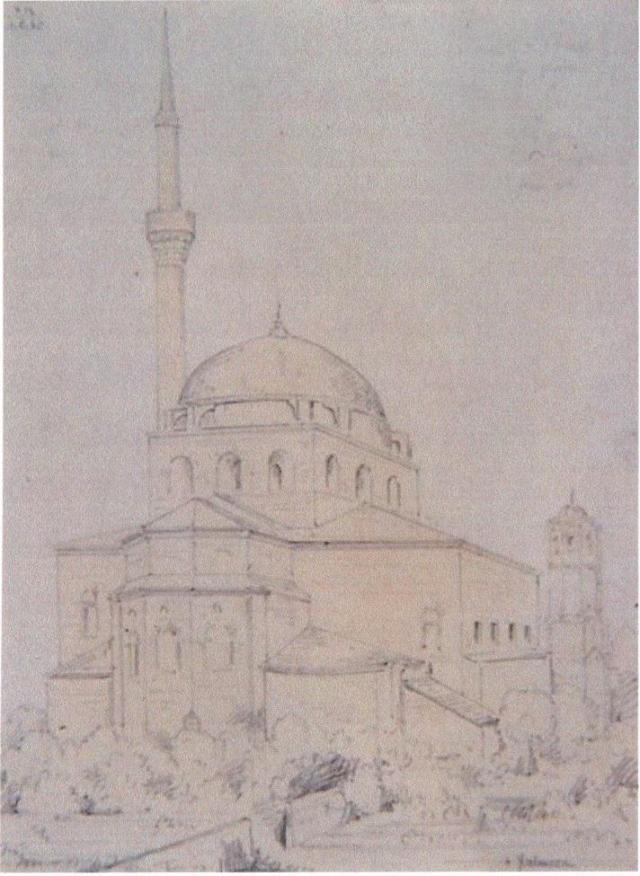 Άγ. Σοφία. R. Bayne 1864. (Από Εικ. 16. Άγ. Παντελεήμωνας. Αλεξ. Αθάνατος). R. Bayne 1864. (Α. Αθάνατος).