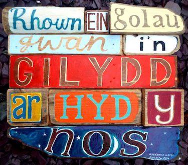 Ar Hyd Yr Nos card by Driftwood Designs