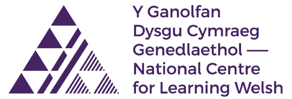 Y Ganolfan Dysgu Cymraeg Genedlaethol logo