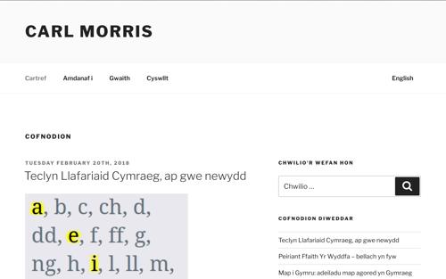 morris.cymru