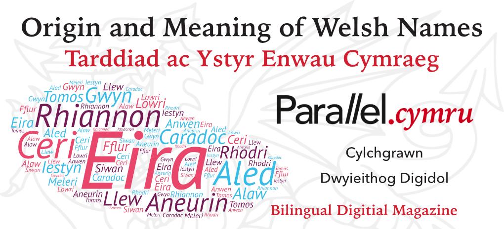 Enwau Cymraeg- Tarddiad ac Ystyr