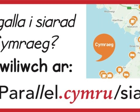 Llefydd i Siarad Cymraeg parallel.cymru