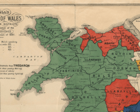 Mapping Welshness in 1891
