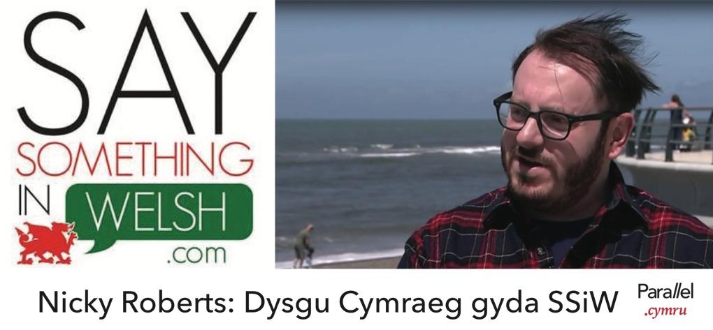 Nicky Roberts- Dysgu Cymraeg gyda Say Something In Welsh