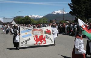 Parade in Patagonia