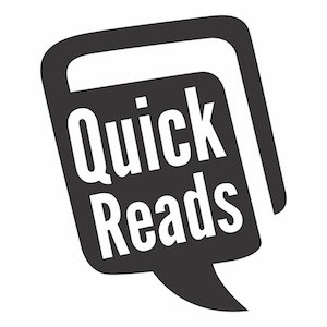 Quick Reads Logo Black