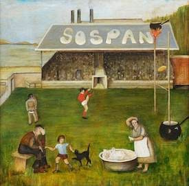 Sosban Fach by ERM Williams, Carmarthenshire Museums Service Collection