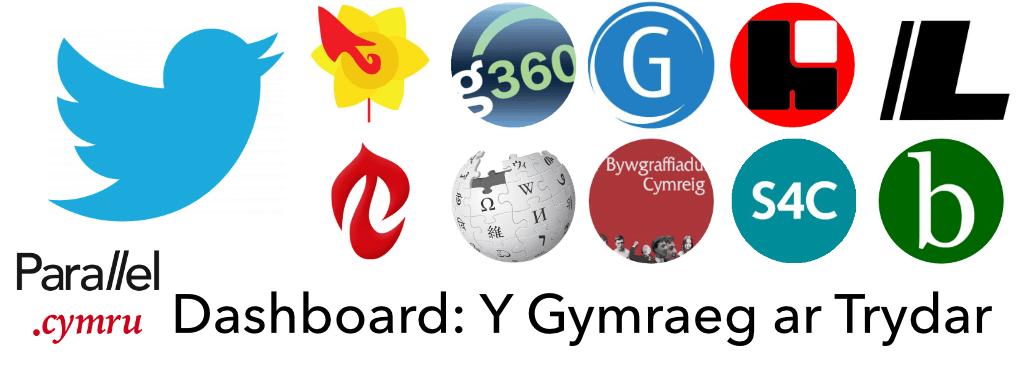 Y Gymraeg ar Drydar Dashboard
