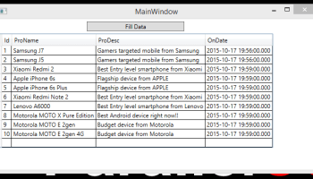 WPF MVVM DataGrid Bind from SQL Database • ParallelCodes
