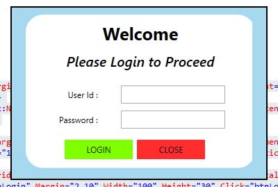 WPF Create Login Form with SQL Database 01