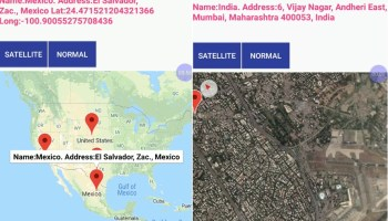 Android Google Map Add AutoComplete Place search • ParallelCodes
