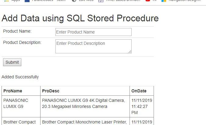 ASP.NET - Stored Procedure. How to use SQL Stored Procedures