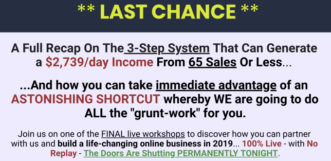 Parallel Profits system LIVE