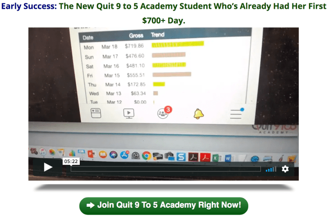 Quit 9 To 5 Academy Is Closing Soon