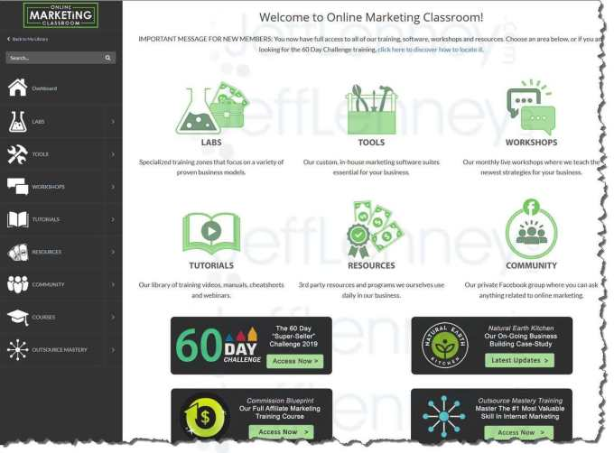 Online Marketing Classroom  Outlet Discount Code March