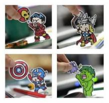 super heroes indefensos