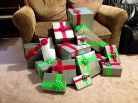 8.) Para crear regalos imposibles de abrir...