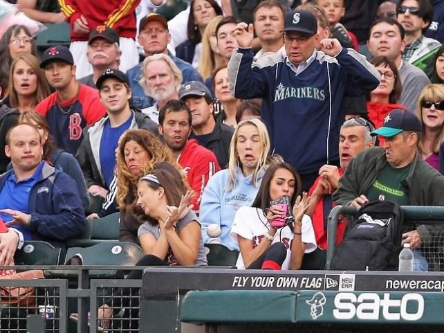 No sabia que el baseball fura tan asqueroso.