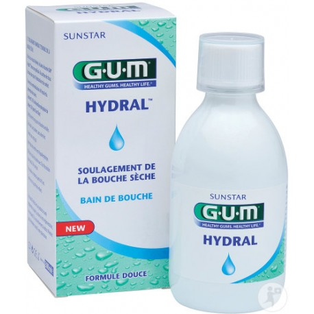 gum hydral bain de bouche 300ml paraluxe