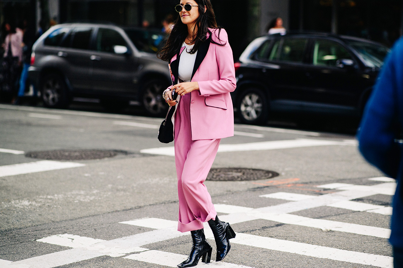 nyfw-spring-2018-street-style-pink-suit
