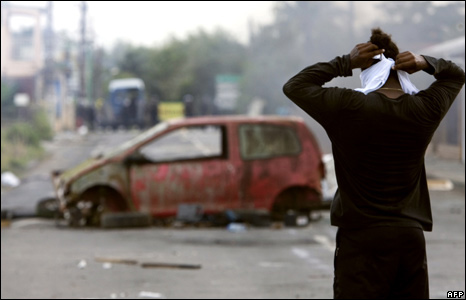 Social Unrest in Guadeloupe, AFP images