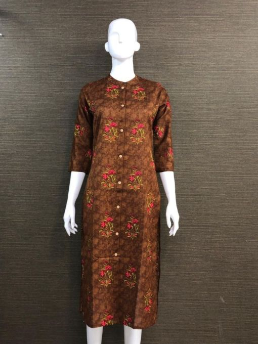 Cotton Flex Fabric Kurti