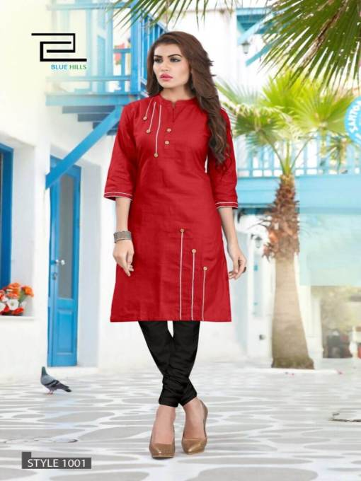 Regular Wear Cotton Kurti