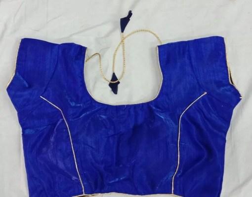 Chanchal Banglori Silk Blouse