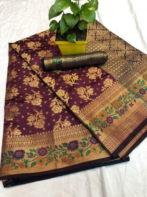 Soft Banarasi Silk