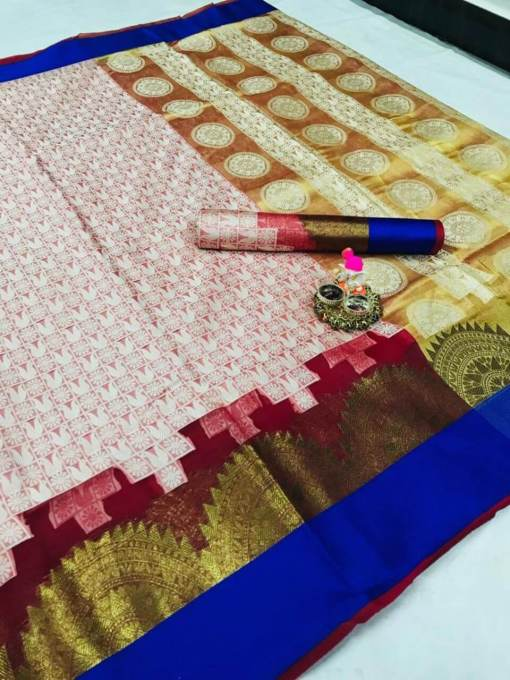 Banarasi Rich Candy Silk Saree
