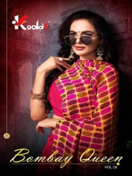 Bombay Queen 28 Dani Printed Saree