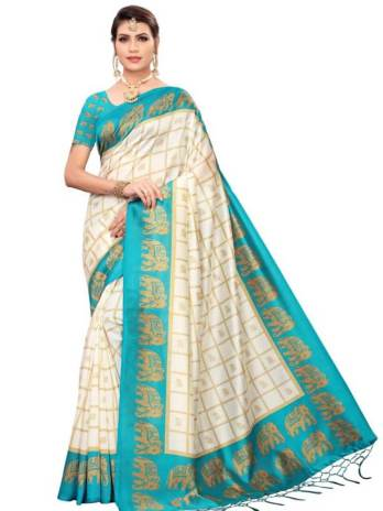 Mysore Silk Printed Fancy Sarees