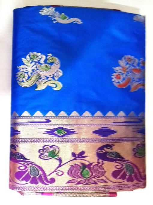 Semi Silk Paithani Saree