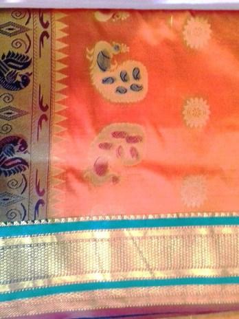 Semi Silk Paithani Saree