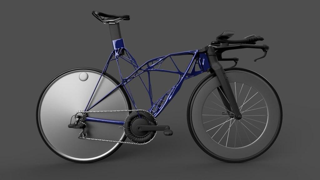 Generative designed time trial bike