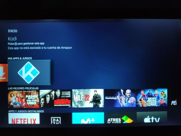 Instalar Kodi en Amazon Fire Stick 4K con Downloader