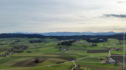 View to the Alps in the South