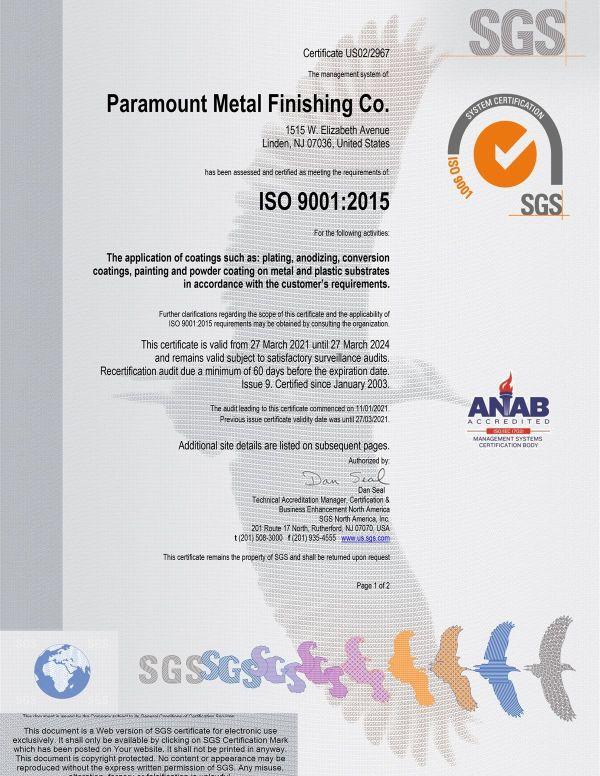 paramount-metal-finishing-co-final-2018-certificate