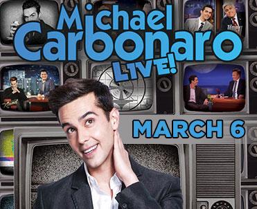 Michael Carbonaro LIVE! 3/6/19 @ 8PM