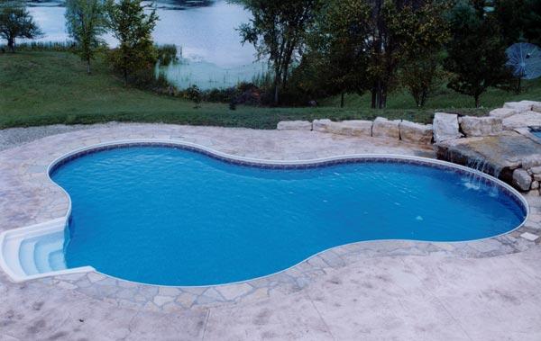 Kafko Taormina Steel Inground Pool
