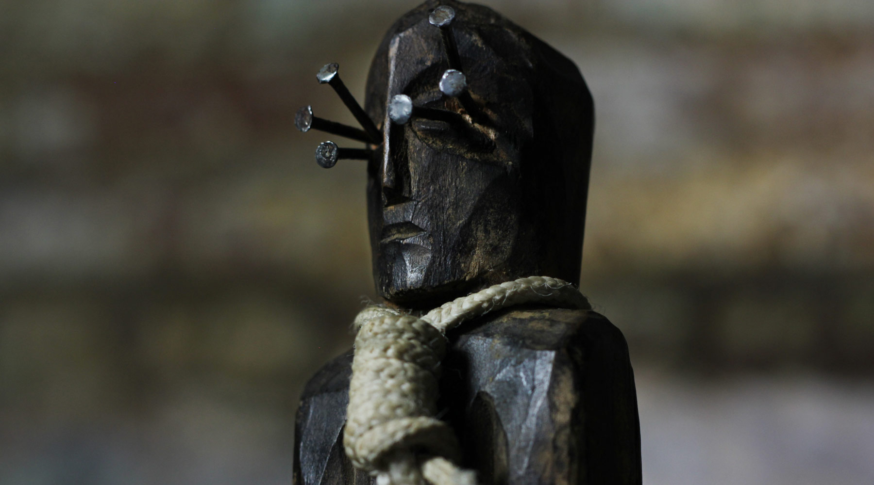 The Crone, a haunted artifact in the Newkirk Traveling Museum of the Paranormal & Occult