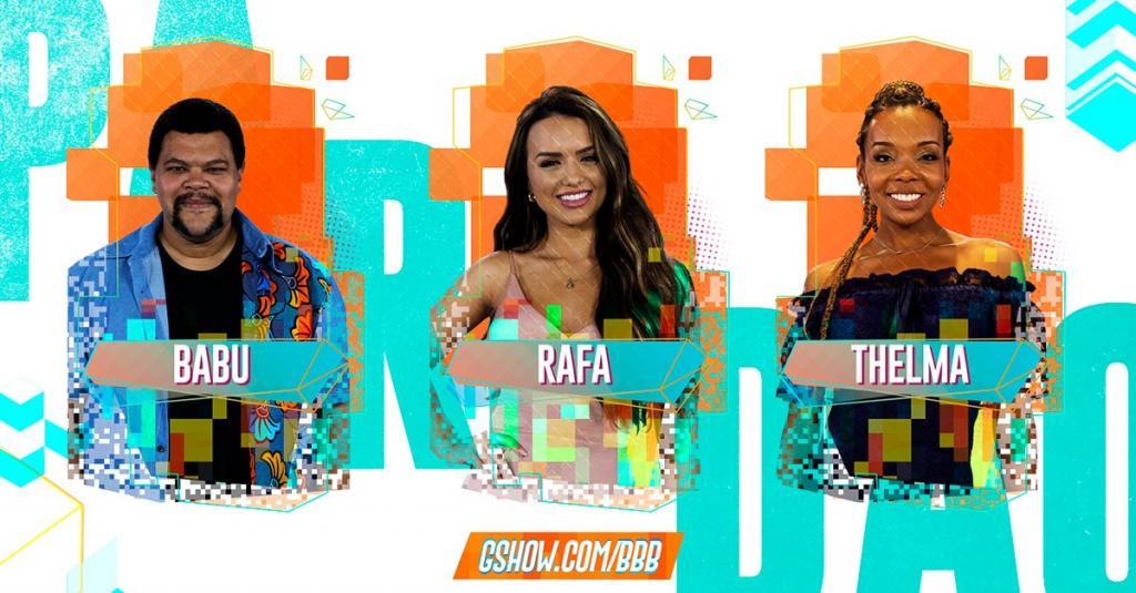 Babu, Rafa e Thelma disputam último paredão do BBB 20; veja como votar