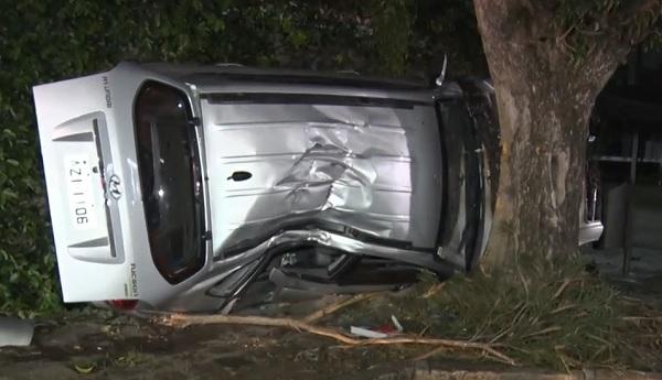 Homem é preso por embriaguez após capotar carro, em Curitiba