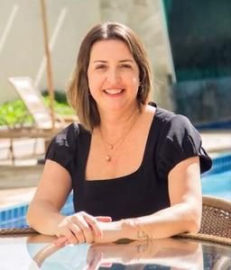 A gerente do Bombinhas Summer Beach Hotel & Spa Alessandra Reis
