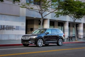 The new Volvo XC90 T6, exterior