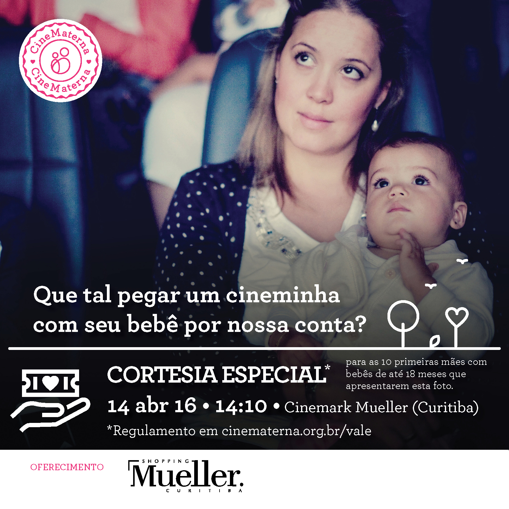 Cinematerna no Shopping Mueller