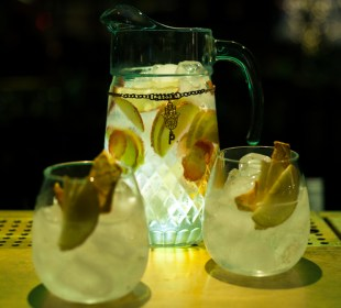 Borbulhas refrescantes nos drinks do Punch