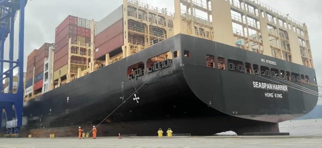 Com novo calado operacional, TCP recebe primeiro navio com nova profundidade máxima